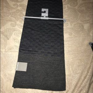 Michael kors scarf with MK logos on it Brand new